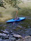 Kayaking the Little River - Great Smoky Mountains, Tennessee